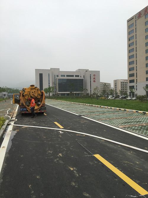 安庆一人民医院雨水管道清洗