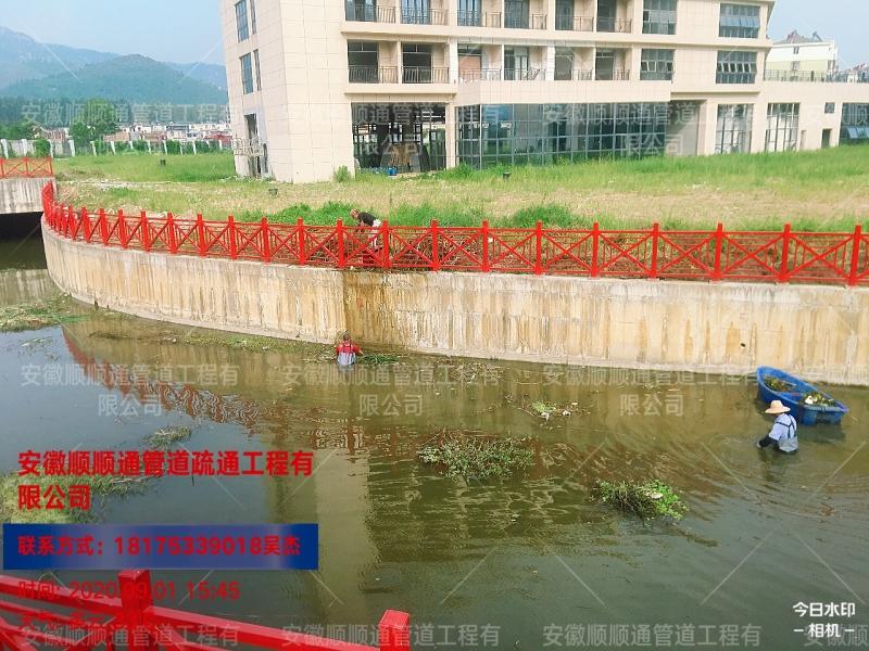 河道杂草垃圾清除